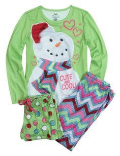 Snowman Pajama Set | Justice