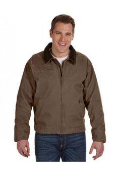 DRI Duck Adult Heavyweight Outlaw Canvas Zipper Jacket