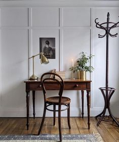 Monday Inspiration: Why every room needs an antique - Mad About The House Home Office Design, Home Office Decor, House Design, Room Inspiration, Interior Inspiration, Monday Inspiration, Cosy Home, Vintage Home Decor, Vintage Furniture