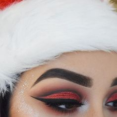 Xmas makeup look using @opvlashes pressed glitter in 'charmed'  ✨ Brows: @anastasiabeverlyhills #anastasiabrows dipbrow in 'dark brown' #abhholidayslay ✨ Eyes: @morphebrushes 35O palette @makeupgeekcosmetics 'corrupt' 'bitten' @sigmabeauty gel liner in 'wicked' ✨ Lashes: @certifeye 'halo' @thebalmeu mad lash mascara ✨ Highlight: #anastasiabeverlyhills moon child glow kit Chunky silver glitter from eBay