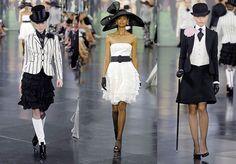 Dressed Cinema: Inspired: Ralph Lauren - My Fair Lady Spring 2008