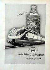 reisen 4711 immer dabei mit TEE  original Werbung aus 1962