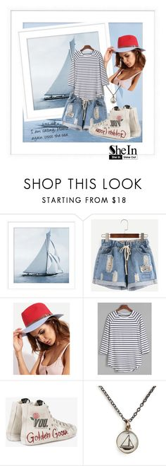 """""""Weekend at home"""" by andrea-pok on Polyvore featuring Pottery Barn, Golden Goose and Chart Metal Works"""