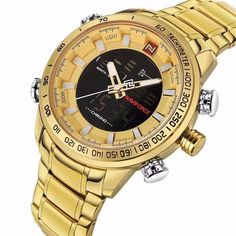 Men's Water Resistant Sports Military Watches