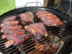 Slow Smoked Honey Apple Beef Ribs « Smoked 'n Grilled