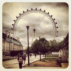 The London Eye in London, Greater London