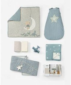 Nursery Bundle - Millie & Boris Blue