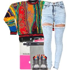Coogi. by beautifulme078 on Polyvore featuring Yves Saint Laurent, Grown Alchemist, PhunkeeTree, COOGI and H&M