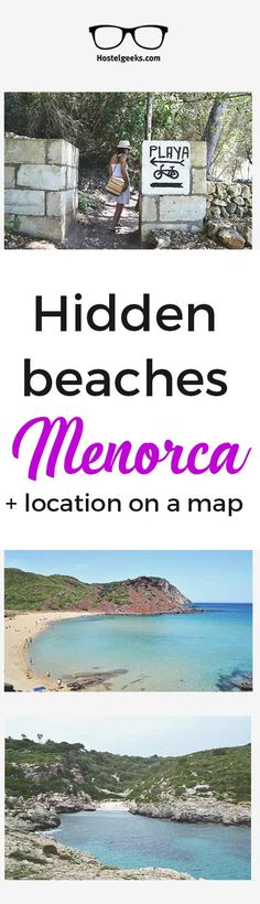 Best beaches Menorca. Menorca photo journal including things to do in Menorca and beautiful hidden beaches.   #menorca #menorcaspain #menorcabeaches