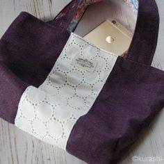 余り布でできるハンドメイドレシピ集|バザーに出せる小物たち | 【暮らしの音】kurashi-*note Diy And Crafts, Tote Bag, Wallet, Handmade, Bags, Design, Totes, Handbags, Hand Made