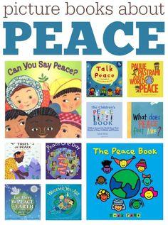 Scholastic's books on peace