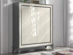 Vitirine avec 2 portes gravées. Mod. GA102G Luz Led, Armoire, Furniture, Home Decor, Glass Rack, Contact Form, Cleaning Tips, Cabinets, Handmade Home Decor