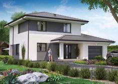 KA35 - proporcjonalny i dobrze zaprojektowany dom piętrowy to gwarancja wygody i przytulności.