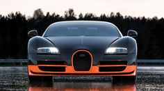 The next-generation Bugatti Veyron will get horsepower through a new hybrid system. The Bugatti Veyron's horses will help it beat the Hennessy Bugatti Super Sport, Super Sport Cars, Super Cars, 2011 Bugatti Veyron, Bugatti Cars, Ferrari, Luxury Sports Cars, Guinness, Rolls Royce
