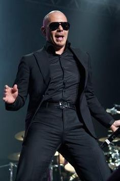 Pitbull - this guy KNOWS how to party. He IS a party! Party with Pitbull