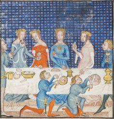 Titre :  Valère-Maxime, Facta et Dicta memorabilia traduction françaiseSimon de Hesdin (Livres I-IV)  Date d'édition :  1400-1500  Français 9749 Folio 76v