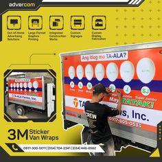 Bacolod, Van Wrap, Large Format Printing, Signage, Ph, It Works, Numbers, Advertising, Wraps