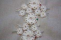 Irish Crochet Wedding Dress Progress   by undoneclothing