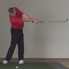 In this drill, you're going to learn how to make one of the hallmark moves of a truly great golf swing – extending through impact.