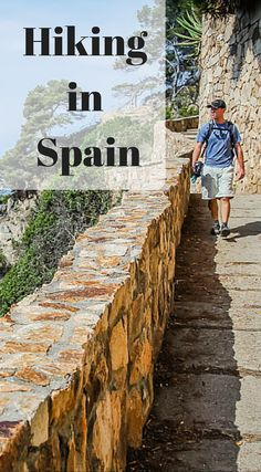 Hiking in Spain. Spain has some the the best hikes in the world. With picture perfect views of the Pyrenees Mountains and shoreline views that look like they were made for a movie set. It should come as no surprise to you that we were eager to strap on our hiking shoes. Click to read the full adventure travel blog post at  http://www.divergenttravelers.com/hiking-camino-de-ronda-costa-brava-spain/