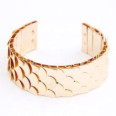fashion bracelet#gold www.lavaii.pl
