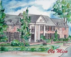 Ole Miss Tri Delta House