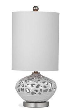 Bassett Mirror Company Holten Table Lamp In Navy/White | Bedroom Lamps |  Pinterest | Bedroom Lamps, Delft And Lamp Light