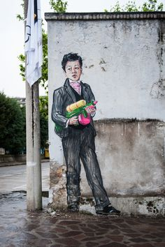 Ernest zacharevic- 3D graffiti #malaysia #art #streetart