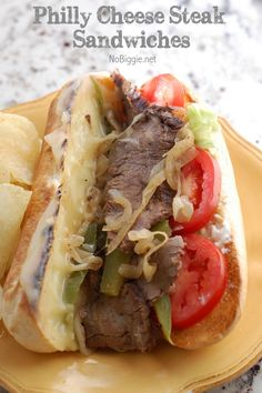 In continuing with our theme this week - flank steak four ways. I'm back with the second delicious recipe to put any leftovers to good use. Today's recipe is for Philly Cheese Steak Sandwiches. I l...