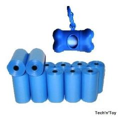1000 Pet Dog Waste Poop Bags with Free Leash Bone Dispenser (Blue) Tech'n'Toy http://www.amazon.com/dp/B00ETP4GUC/ref=cm_sw_r_pi_dp_Lyv2tb0V4979N1YP