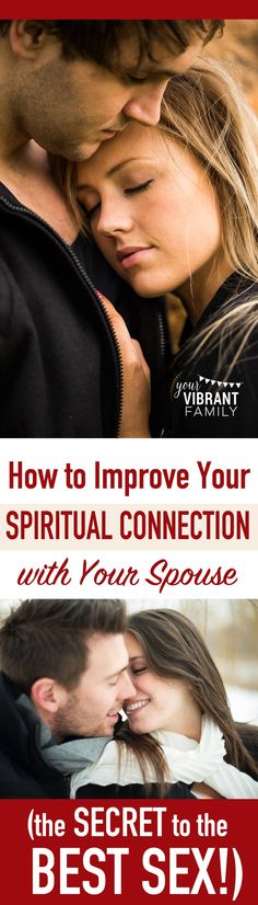 How can growing closer spiritually transform your sex life? This post will help…