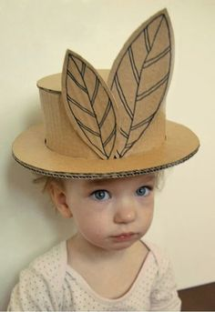 #DIY : How To Make a Cardboard Hat For Your Kids | My Favorite Things
