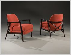 Lex Chairs by Ransom Culler - Thayer Coggin
