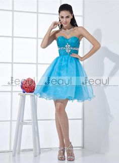 dress a dress Picture - More Detailed Picture about Crystal Ruched Empire  Grade Prom Dresses Light Blue Semi Formal Dress 2015 Hot Vestido De  Formatura ... d3535f58e