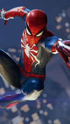 Top Spiderman Wallpapers - Homecoming, Into the Spider-Verse - Update Freak Amazing Spiderman, Image Spiderman, Art Spiderman, Spiderman Pictures, Marvel Comics, Hero Marvel, Marvel Avengers, Iron Spider, Marvel Wallpaper