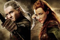 "Peter Jackson's sequel to ""The Hobbit: An Unexpected Journey"" introduces Tauriel (Evangeline Lilly) -- a female warrior elf not in J.R.R. Tolkien's novel -- and brings back ""Lord of the Rings"" fan favorite Legolas (Orlando Bloom) to join Hobbit Bilbo Baggins (Martin Freeman) and Dwarf King Thorin on their journey to reclaim Lonely Mountain from dragon Smaug"