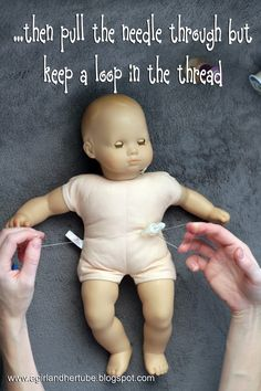 Feeding Raya: How to put a G tube into a doll....again another pin i dont need done this tons of times but someone may..