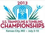 US Trampoline and Tumbling Championships head to Kansas City 2013 - aspiring to qualify for 2014!!!  :)