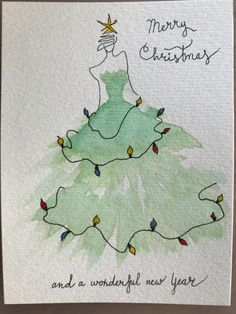 aquarell weihnachten Most current Screen Christmas cards painted Concepts Xmas along with the Fun Period usually are quickly approaching. The earlier you will get prepared by Pencil Christmas Tree, Christmas Tree Drawing, Watercolor Christmas Cards, Cool Christmas Trees, Diy Christmas Cards, Christmas Paintings, Watercolor Cards, Xmas Cards, Christmas Art