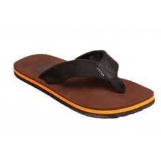 Levitate Men's Slippers  Brown Orange