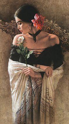 Gypsy style - khairiabed: romantic - feminine figures latin...