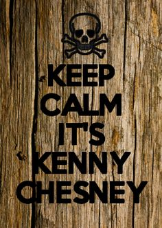 How can you be calm when its KENNY CHESNEY!! Get to see this beaut tomorrow!