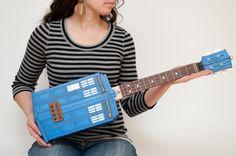TARDIS ukulele