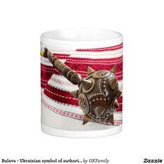 Bulava - Ukrainian symbol of authorities. Classic White Coffee Mug