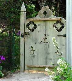 Whimsical Garden Gate