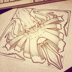 Octopus- LUNCH SCRIBBLES by Craig Patterson - Absorb81, via Behance