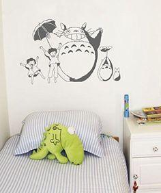 Totoro Wall Art Decal Sticker   Futuro Apê   Pinterest   Totoro, Wall Art  Decal And Walls