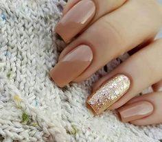 Imagen de nails, gold, and beauty