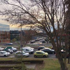 Vistas desde AXPE Consulting Madrid un viernes por la tarde. #AXPEConsulting #Vistas #Ciudad #Madrid #Trafico #FinDeSemana