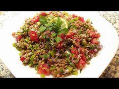Salade de lentilles Recette simple et faciles à faire - Cuisine Marocaine 132 - YouTube Lentil Salad, Lentils, Ramadan, Easy Meals, Dinner Recipes, Lunch, Moroccan Recipes, Create, Cooking
